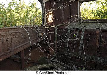 Antique Car Rust