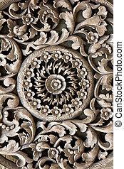antique Carved wooden