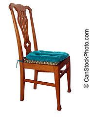 Antique Chair with Cushion