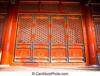 antique chinese stylish door