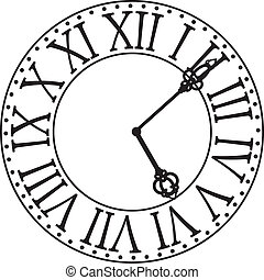 clock face illustrations and clipart 16 140 clock face royalty free rh canstockphoto com clock face clip art free for teachers clock face clip art no hands