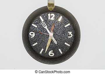 Antique clock vintage