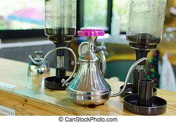 Antique coffee equipment