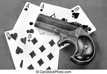 Antique Derringer Pistol.