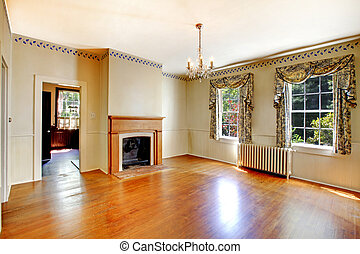 Antique dining room in a residence from 1856