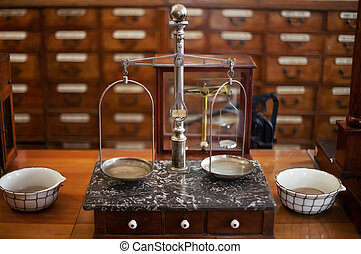 drugstore weighing scales - antique drugstore weighing ...