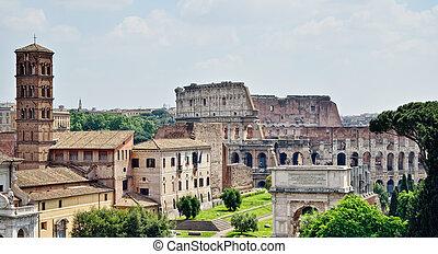 Antique Edifices