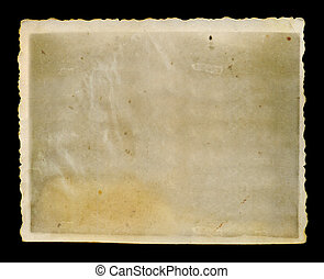antique faded photograph - Antique faded blank grunge photo...