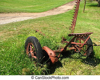 Antique Farm Equipment Old And Rusted Farm Equipment