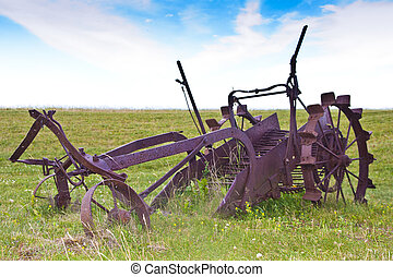 Antique Farming Plough