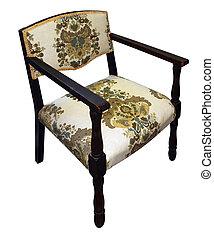 Antique Floral Chair