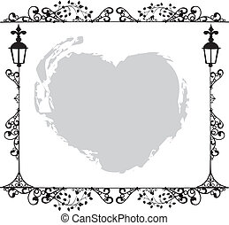 Antique Frame ornaments Vectors