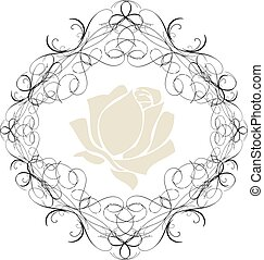 Antique Frame ornaments Vectors2