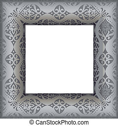 antique frame - vector illustratio
