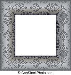 antique frame - vector illustratio