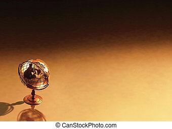 Antique Globe Background