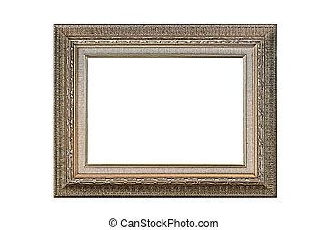 antique golden picture frame