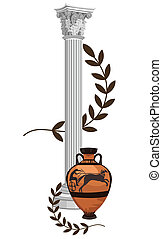 Antique Greek Symbols