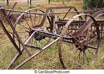 Antique Hay Rake