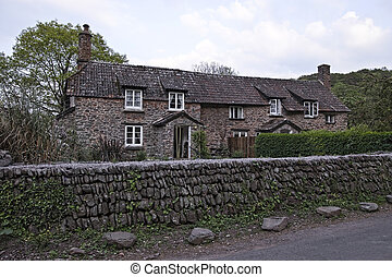 Antique house in English countrysid