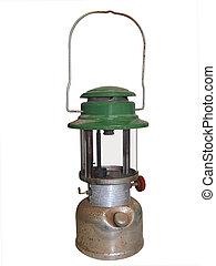 Antique Hurricane Lamp