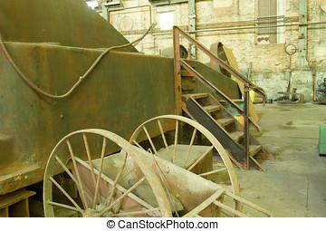 Antique industrial tools