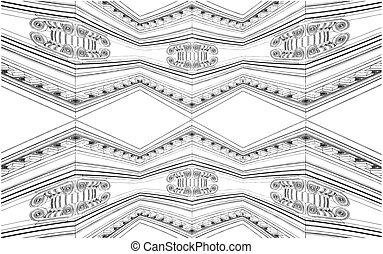Ionic Column Ornamental Structure