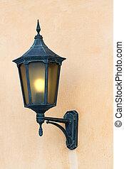 Antique lantern.
