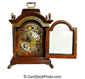 Antique mantel chime clock