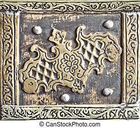 Antique metal