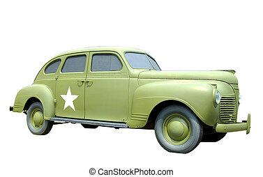 Antique Military Car