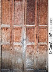 Antique Old wood door