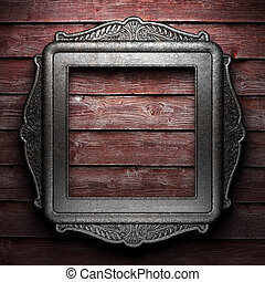 Antique ornament frame