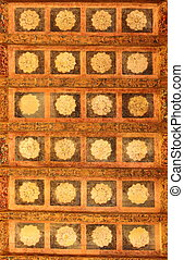 Antique ornamental ceiling
