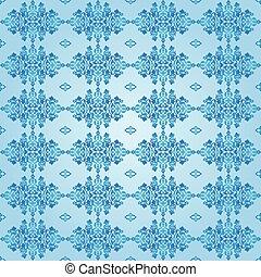 Antique ottoman turkish pattern vec