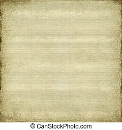 Antique paper and bamboo woven background with light grunge...