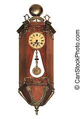 Antique pendulum clock
