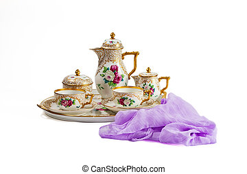 Antique porcelain from the 19th century
