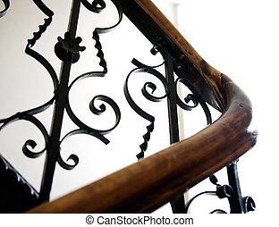 Antique Railing Detail