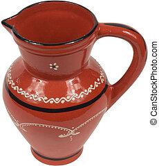 Antique Red jug