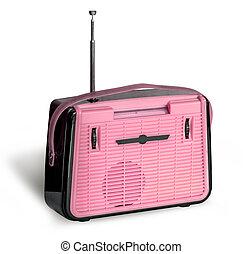 Antique retro radio