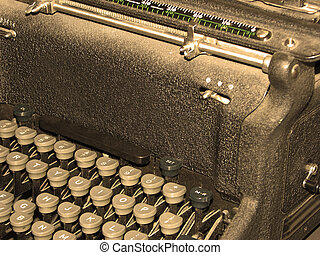 Antique Retro Typewriter