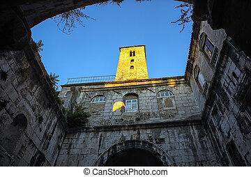 Antique roman town Split in Dalmatia