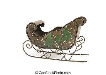 Antique Santa Sleigh