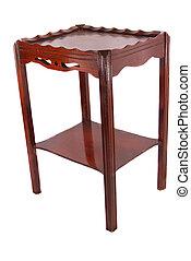 Antique Scalloped, Raised Edge Table
