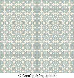 Antique seamless background check cross geometry