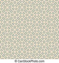 Antique seamless background geometry cross check
