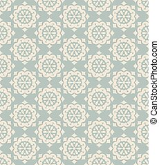 Antique seamless background vintage round flower