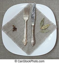 Antique Silver Tableware