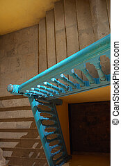 Antique stairs in Old Havana